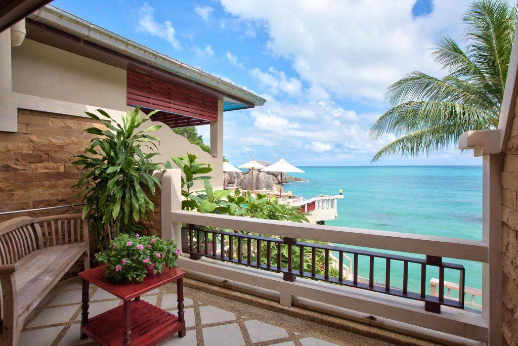 Crystal Bay Beach Resort Beach Front Balcony 2