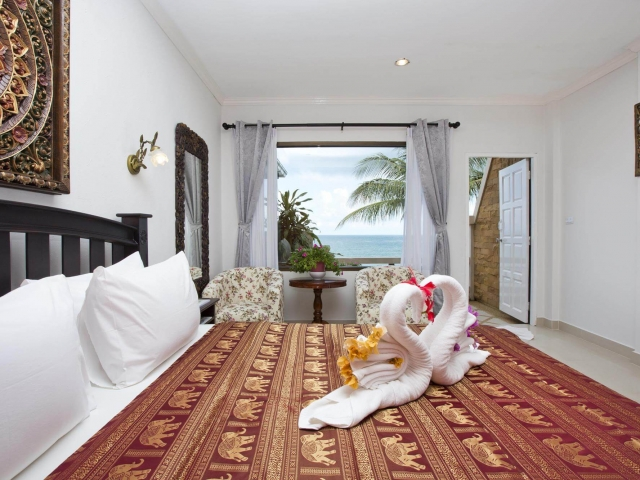 Crystal Bay Beach Resort Beach Front Balcony 5