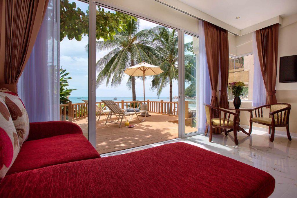 Crystal Bay Beach Resort Beach Front Terrace 2