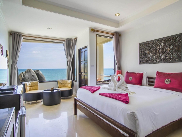 Crystal Bay Beach Resort Sea View Deluxe 6