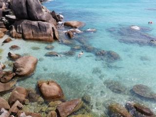 Snorkelling at Crystal Bay Beach Resort